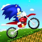Course de motos Sonic