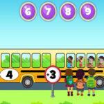 Apprendre à Additionner et à Soustraire avec le bus scolaire