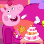 Peppa Pig Blessé
