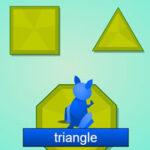 Formes Géométriques: Kangaroo Hop