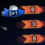 Multiplication de la course à l'espace
