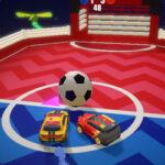 Football avec des Voitures 3D