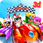 Course de Kart 3D