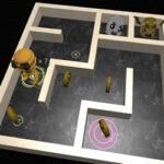 Maze et Robot en 3D