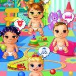 S'occuper de 4 bébés à la crèche