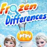5 Différences Frozen