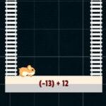 Additionner des nombres Positifs et Négatifs avec le hamster