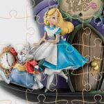 Puzzles en ligne d'Alice au Pays des Merveilles