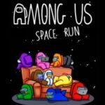 Among Us Space Run