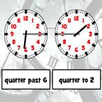 Horloge analogique vs. horloge numérique