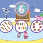 Apprenez les nombres avec Peppa