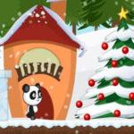 L'aventure avec un petit panda à Noël