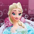 Elsa Frozen, Bain de beauté