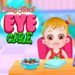 Bébé Hazel chez l'ophtalmologiste