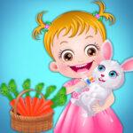 Bébé Hazel Soins aux animaux