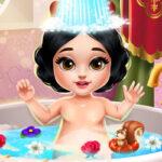 Le bain de la petite Blanche-Neige