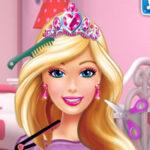 Barbie chez le coiffeur