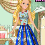 Patchwork de mode Barbie