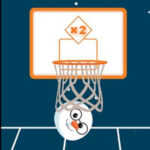 Basket-ball Boule de neige