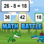 Bataille Mathématique avec les Dinosaures