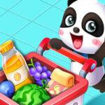 Bébé Panda au supermarché