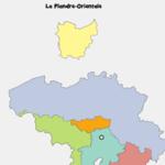 Géographie Tetris de la Belgique