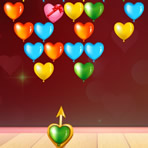 Bubble Shooter de coeur