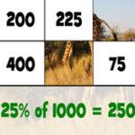 Calculer des Pourcentages