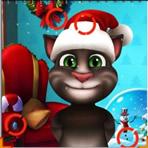 Trouver des différences Noël avec Tom