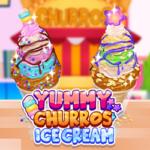 Churros et Crème Glacée