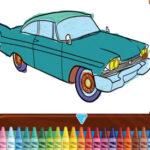 Coloration des voitures classiques