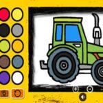 Coloration des Tracteurs en ligne