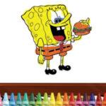 Coloriage Bob l'éponge