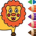 Coloriage d'animaux pour les enfants d'âge préscolaire