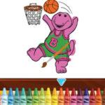 Coloriage Barney