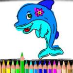 Coloriage des Dauphins en ligne