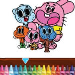 Coloriage Gumball
