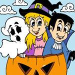 Coloriage d'Halloween en ligne