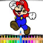 Coloriage Mario en Ligne