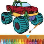 Coloriage du Monster Truck