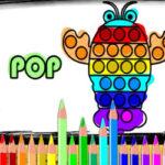 Coloriage des Dessins Pop it
