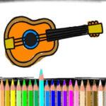 Coloriage des Instruments de Musique