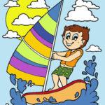 Coloriage Dessins d'été