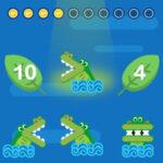 Comparer avec le Crocodile: moins que, égal à, plus que