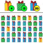 Compter les cadeaux de Noël