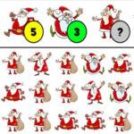 Compter le numéro du Père Noël