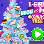 Concours de l'arbre de Noël: Geek contre Néon