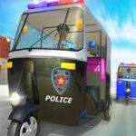 Conduite d'une moto de police