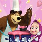 Cuisiner avec Masha et Michka