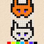 Copie de Dessins de Pixels: Symétrie Translationnelle